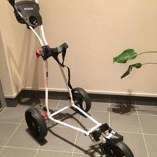 セール【欧州限定】FASTFOLD ゴルフカート キャディバギー...