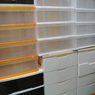 プラスチックチェスト各種 衣装ケース 衣類収納