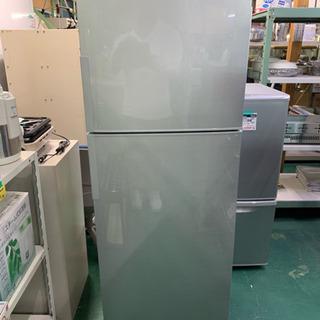 シャープ 2ドア冷蔵庫 SJ-D23B-S 2016年 225L 中古