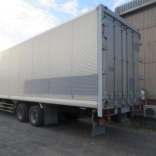 物置 倉庫 バン アルミバン ボデー 10t 大型 箱 コンテナ トラックコンテナ ガレージ(No. 25902) − 岡山県
