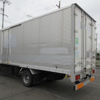 物置 倉庫 バン アルミバン ボデー 4t箱 コンテナ トラックコンテナ ガレージ(No. 26698) − 岡山県