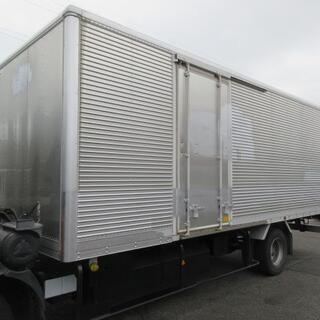 物置 倉庫 バン アルミバン ボデー 4t箱 コンテナ トラックコンテナ ガレージ(No. 26698)の画像