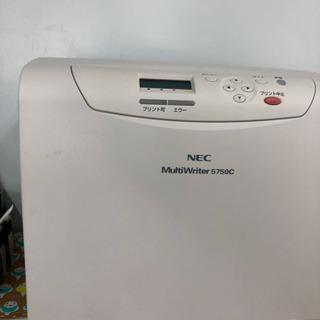 NECのカラーレーザープリンター 5750C