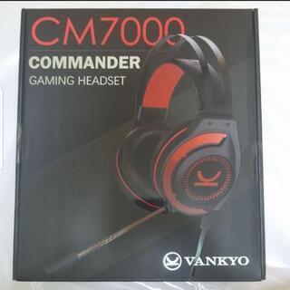 新品 VANKYO CM7000 ゲーミング ヘッドホン ヘッド...