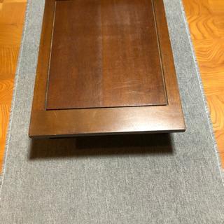 ローテーブル  木製  堅牢な作りです