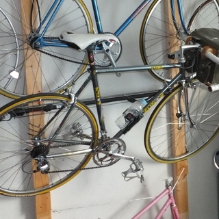 1990 ZUNOW デュラエース ロードバイク 室内保管 54...