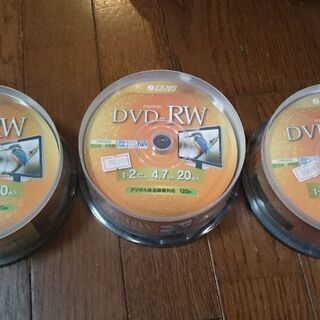 DVD-RW disk 未使用60枚