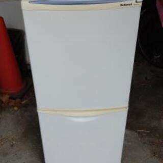 交渉成立   ナショナル 冷蔵庫 NR-BH124J