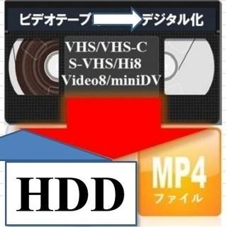 ★ビデオテープからUSBメモリー・HDDに保存(MP4/WMVフ...