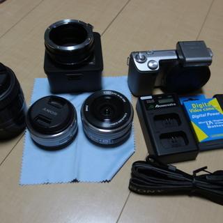 ミラーレスカメラ SONY NEX-5