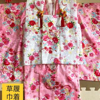 【お取引中】七五三 3才 ピンクの着物セット