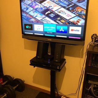 【値下げしました】32型液晶テレビ+テレビスタンド