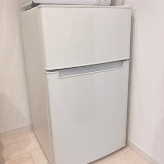 冷蔵庫 使用半年 美品 amadana