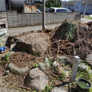 庭石 大きい庭石 造園業の方 石好きの方へ