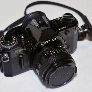 CANON AE-1 作動確認済み カメラバック付き