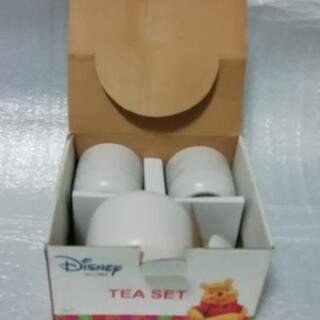 未使用品Disney Pooh Tea set