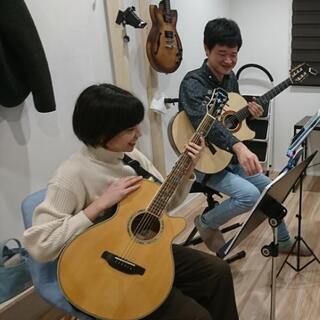 ギター・弾き語りのレッスンをいたします 生徒さんの6割は女性 初...