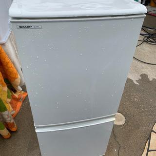 SHARP シャープ ノンフロン冷凍冷蔵庫 2段式 2008年製