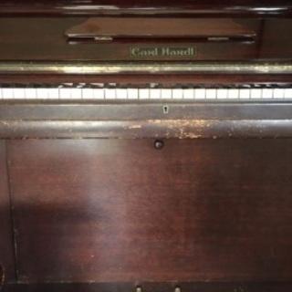 アップライトピアノ(象牙の鍵盤)お譲りします。