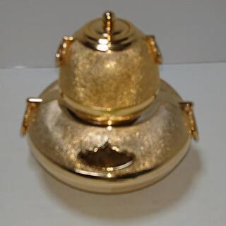 24KGP 茶釜の置物