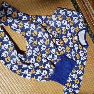 冬パジャマ ぞうさん95cm