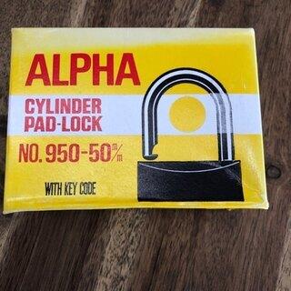 【アウトレット】南京錠ALPHA NO.950-50mm 6個セット