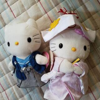 キティ ダニエル  和装結婚式ぬいぐるみセット