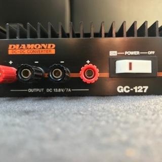 DCコンバーター 24V 13.8V/7A