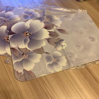 水牛の革 枕カバー 未使用品 2点セット
