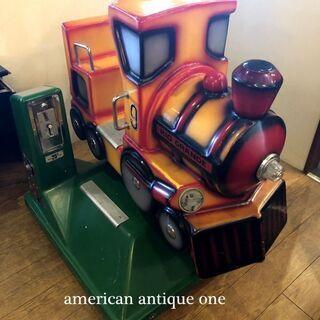 動きます^^ USAライディングマシン 機関車リオ・グラン…