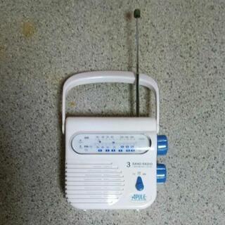 ラジオ(FM,AM)、防水