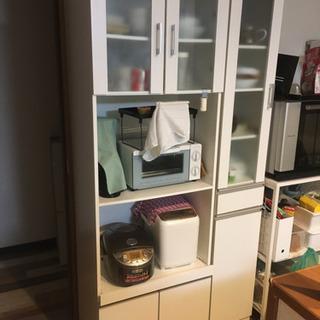 ニトリ  食器棚 スリム