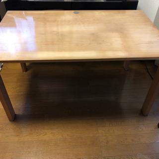 【今週末限定】天然木のワイド・ローテーブル
