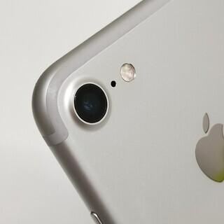 SIMフリー iPhone7 128GB Silver バッテリー89%  - 携帯電話/スマホ