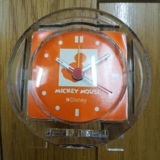 ミッキーミニ時計(未使用)