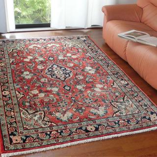 【送料込】ペルシャ絨毯・オールド ヴィンテージ  221×135cm