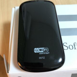 SoftBank ソフトバンク Wi-Fi 007Z