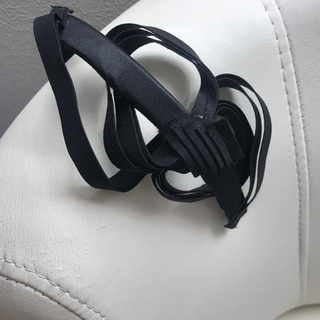 カチューシャ リボン ヘッドアクセサリー サテン 黒 ヘッドドレス