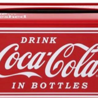 アメリカ雑貨 コカ・コーラ ティッシュボックス