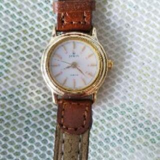 新品未使用!電池交換済!JEMIS腕時計 レディース