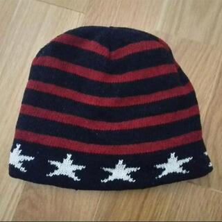 キッズ 星条旗柄 ニット帽