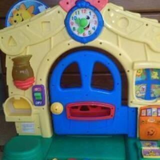 知育玩具、フィッシャープライス、learning home