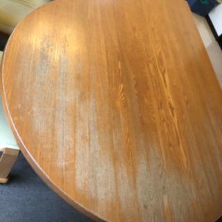テーブル再塗装 食卓再塗装 家具修理