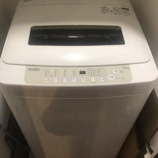 洗濯機 7kg!! 2016年 Haier JW-K70K