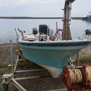 和船 2スト 漁探船台付き