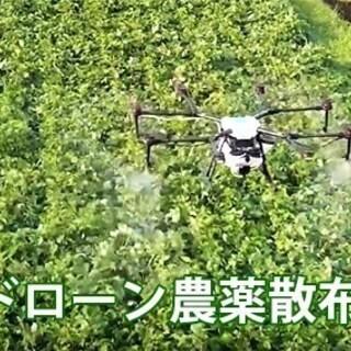 ドローンによる農薬や肥料の散布を承ります。その他、空撮ドローンで...