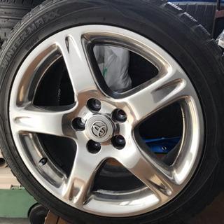 タイヤ ホイール付き 4つセット スタットレス
