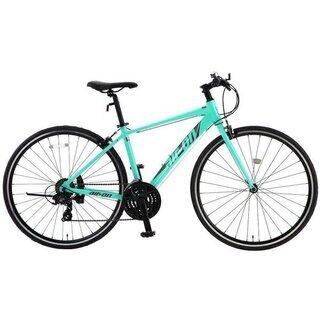 【新車】アルミフレームクロスバイク3×7段【キャッシュレス還元5%】