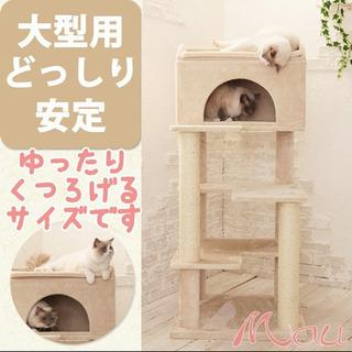 大型猫用キャットタワー(中古品)