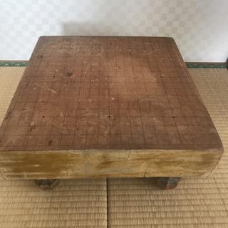 昔の囲碁盤と碁石セット